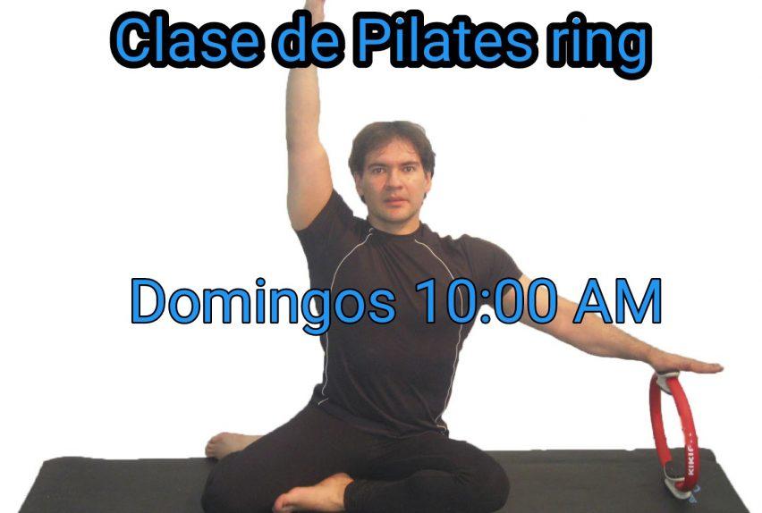 Clase de pilates aro online abalance
