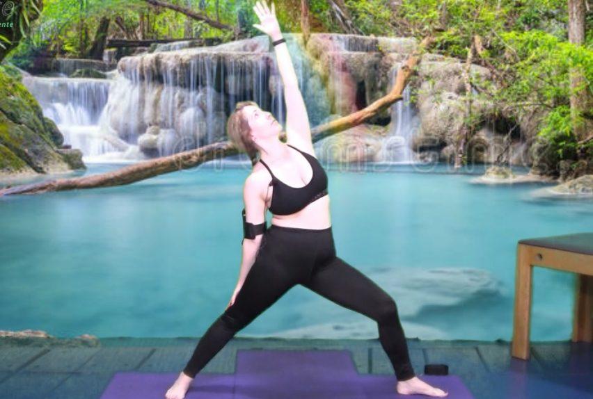 Clase stretching Yoga