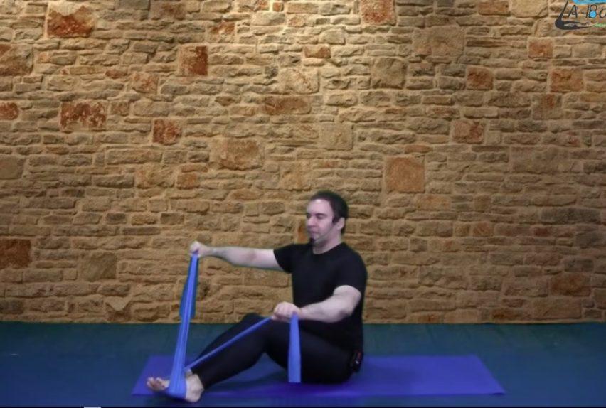Pilates banda elástica abalance