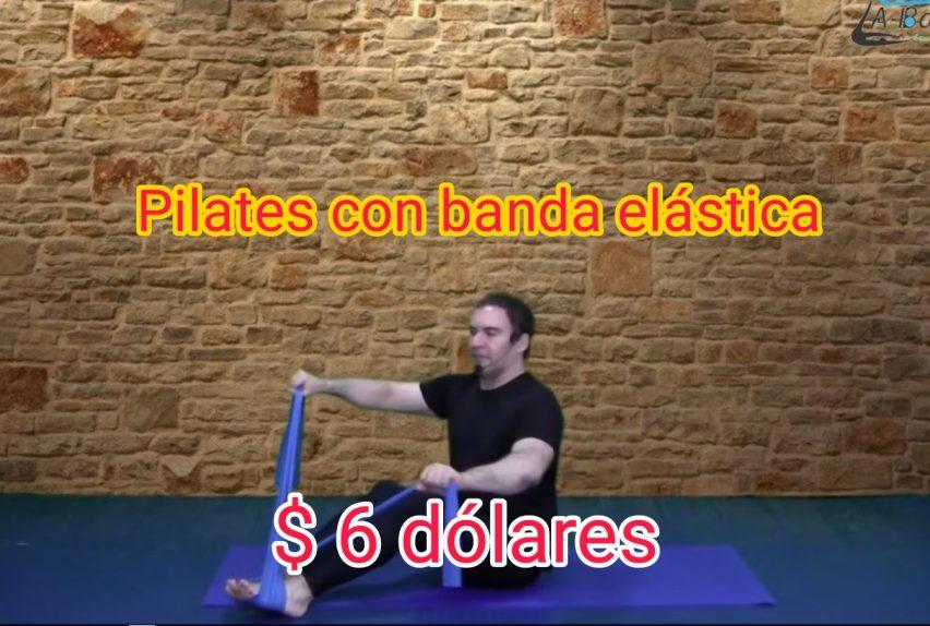 Pilates con banda elástica